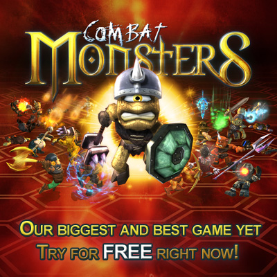 Combat Monsters - for ipad, iphone, android, PC, Blackberry playbook