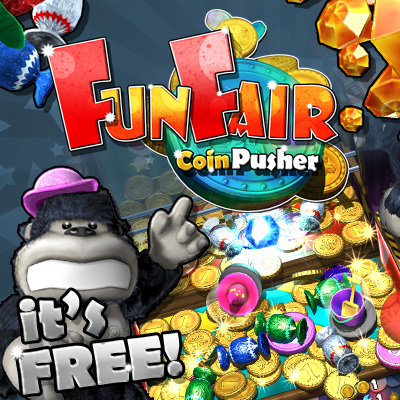 FunFair Coin Pusher - for ipad, iphone, android.