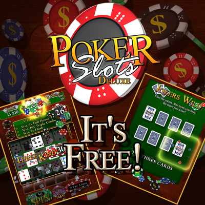 Poker Slots Deluxe - for ipad, iphone, android.