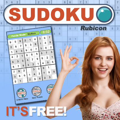 Sudoku Rubicon - game app for ipad, iphone, android
